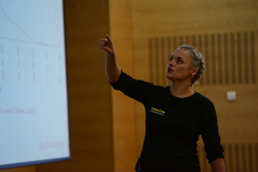 Sallyann Freudenberg Lean Agile Scotland 2016
